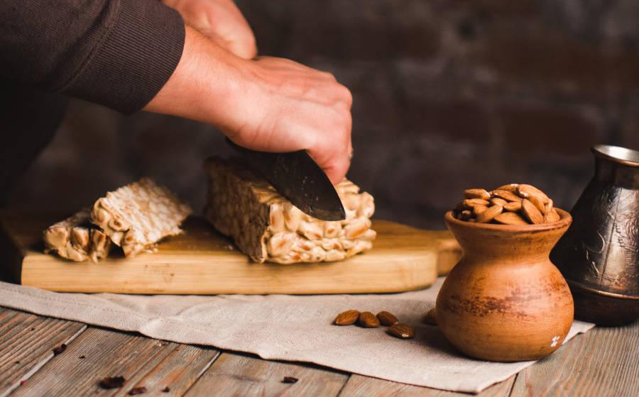 Sabor y textura de la almendras en repostería y recetas